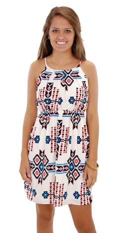 White Stampede Dress