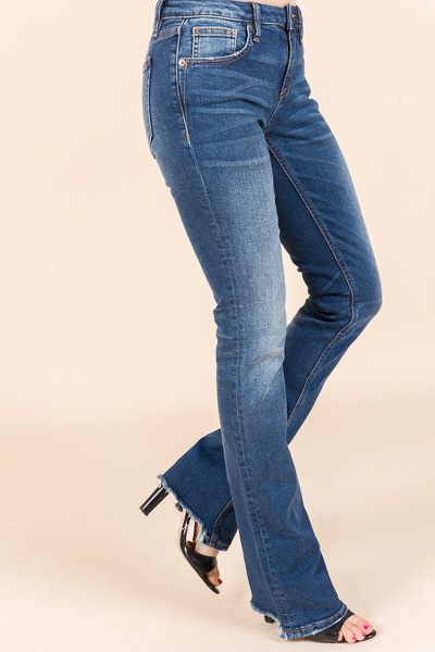 Kendall Mid-Rise Jeans