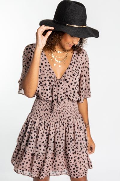 Flinstones Smocked Dress
