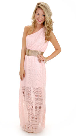 Jeannie Maxi, Pink Lace