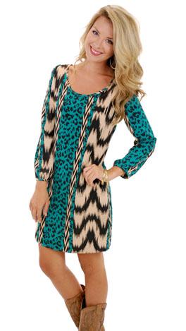 Cheetahs Never Prosper Dress