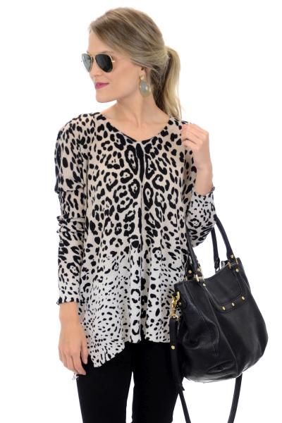 Best Boxy Leopard Sweater