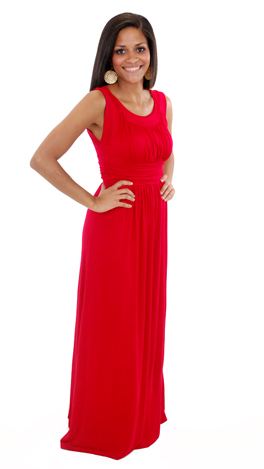 Count Me In Maxi, Red