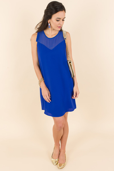 Cobalt Stunner Dress