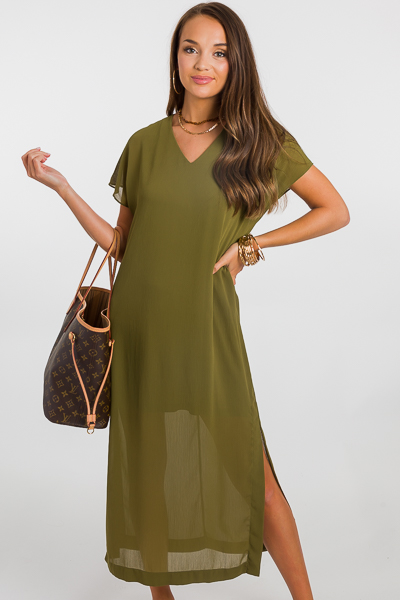 Airy Maxi, Olive