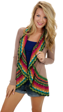 Obsession Cardigan, Taupe
