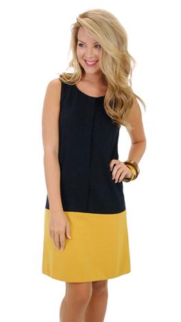 Fergie Dress, Yellow