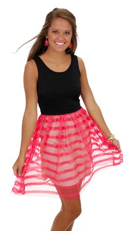 Bow-dacious Dress, Coral