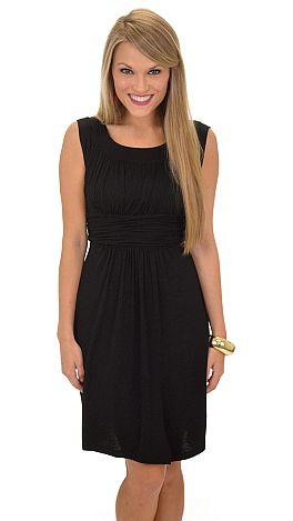 Good Call Dress, Black