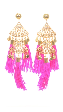 Egyptian Tassels, Pink