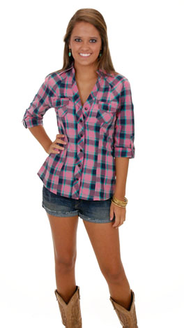 Gone Country Top, Pink