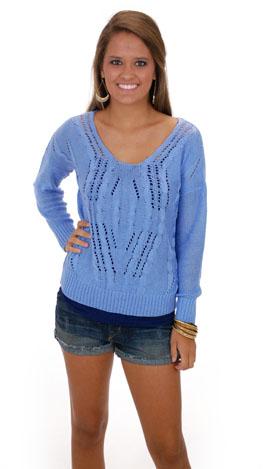 Tender Lovin Sweater, Blue