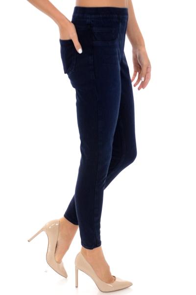 SPANX Jean-ish Legging, Dark Blue
