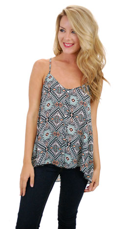 Woodstock Cami, Mint