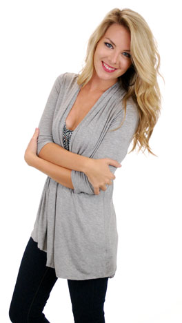 Must Have Cardi, Gray