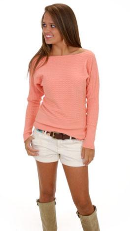 Soft is an Understatement Sweater, Peach
