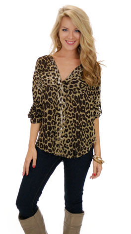 Queen of the Jungle Top