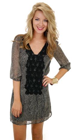 Embrace the Lace Dress, Black