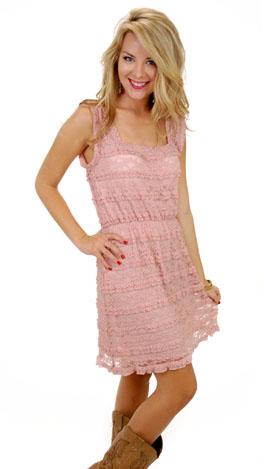 Make Me Blush Dress, Blush