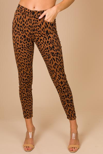 5 Pocket Cheetah Pants