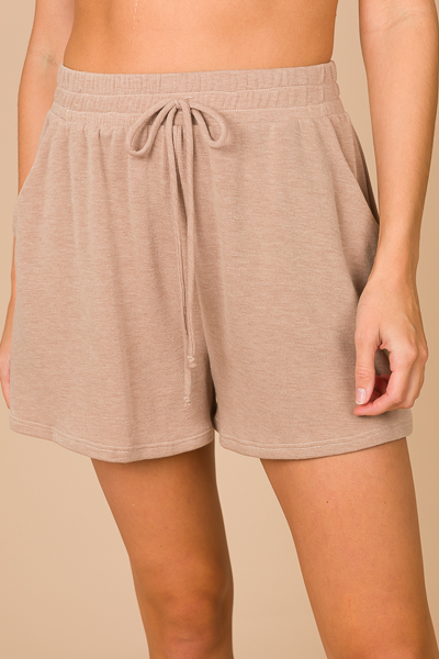 Soft Shorts, Solid Taupe