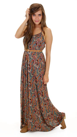 Perfect in Paisley Maxi