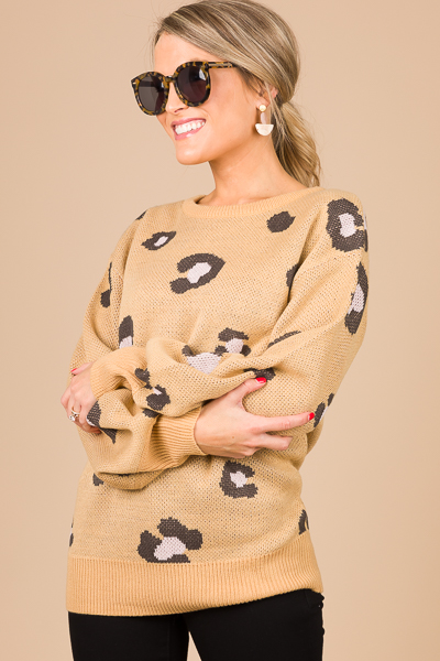 Christy Cheetah Sweater