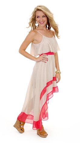 Ticket to Paradise Dress, Cream