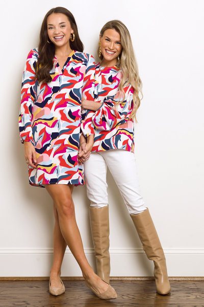 Remi Dress, Mod Multi