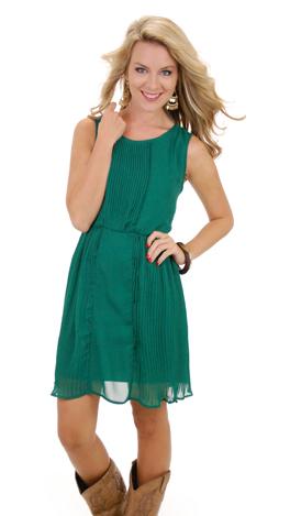 Deep Emerald Dress