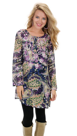 Floral Madness Tunic
