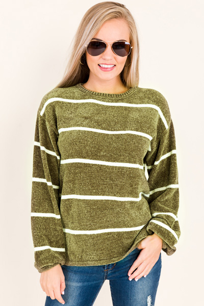Bopsy Chenille Sweater