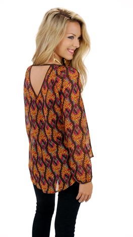 Colors of the Wind Blouse