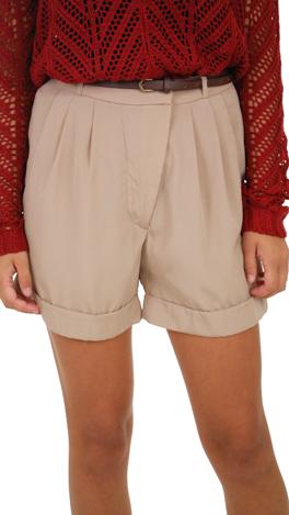 Candace Shorts, Beige