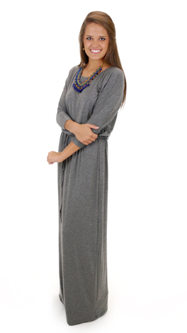 Women's Intuition Maxi, Gray