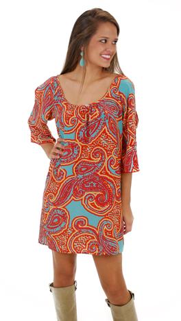Snatch And Grab Dress, Orange