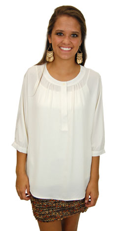 Tickle The Ivories Blouse