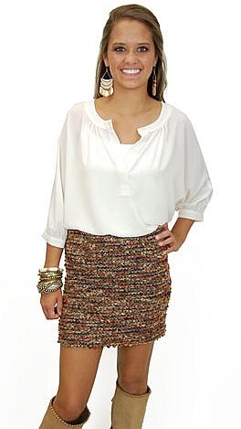 Not Too Shaggy Skirt