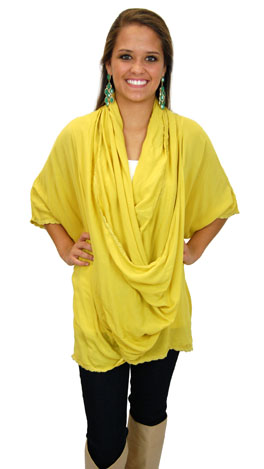 Loopty Low Top, Yellow
