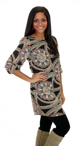 Strokes of Genius Dress