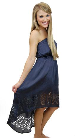 Cut It Out Hi-Lo Dress