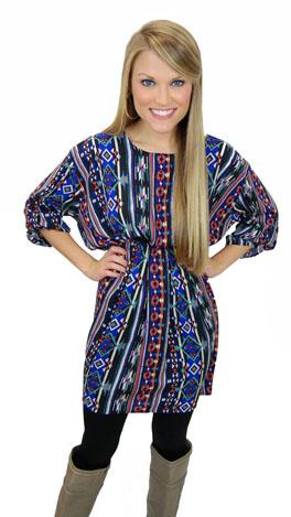 Center Pleat Dress