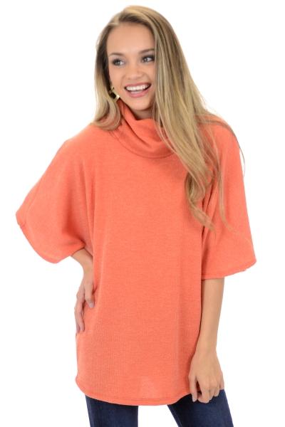 Color Crush Sweater, Orange