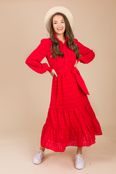 Check it Maxi, Red