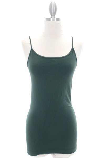 Famous Cami, Pine Green