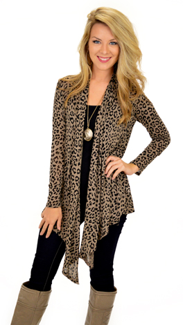 Wrapped in Leopard