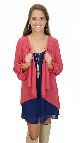 Marilyn Sheer Cardi, Berry