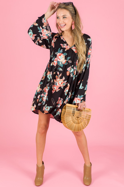 Laura Floral Dress