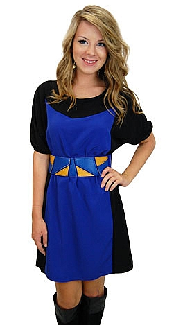 Aced Geometry Dress