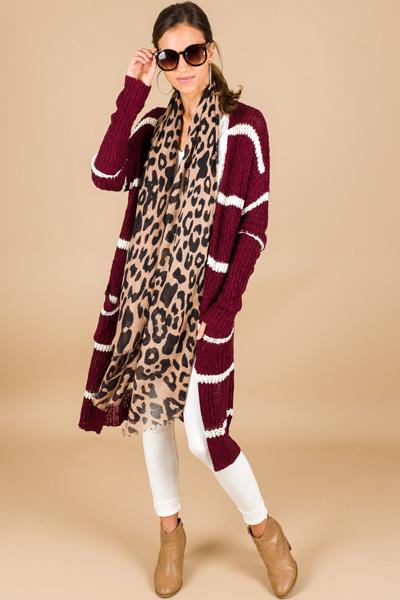 Leopard Lady Scarf